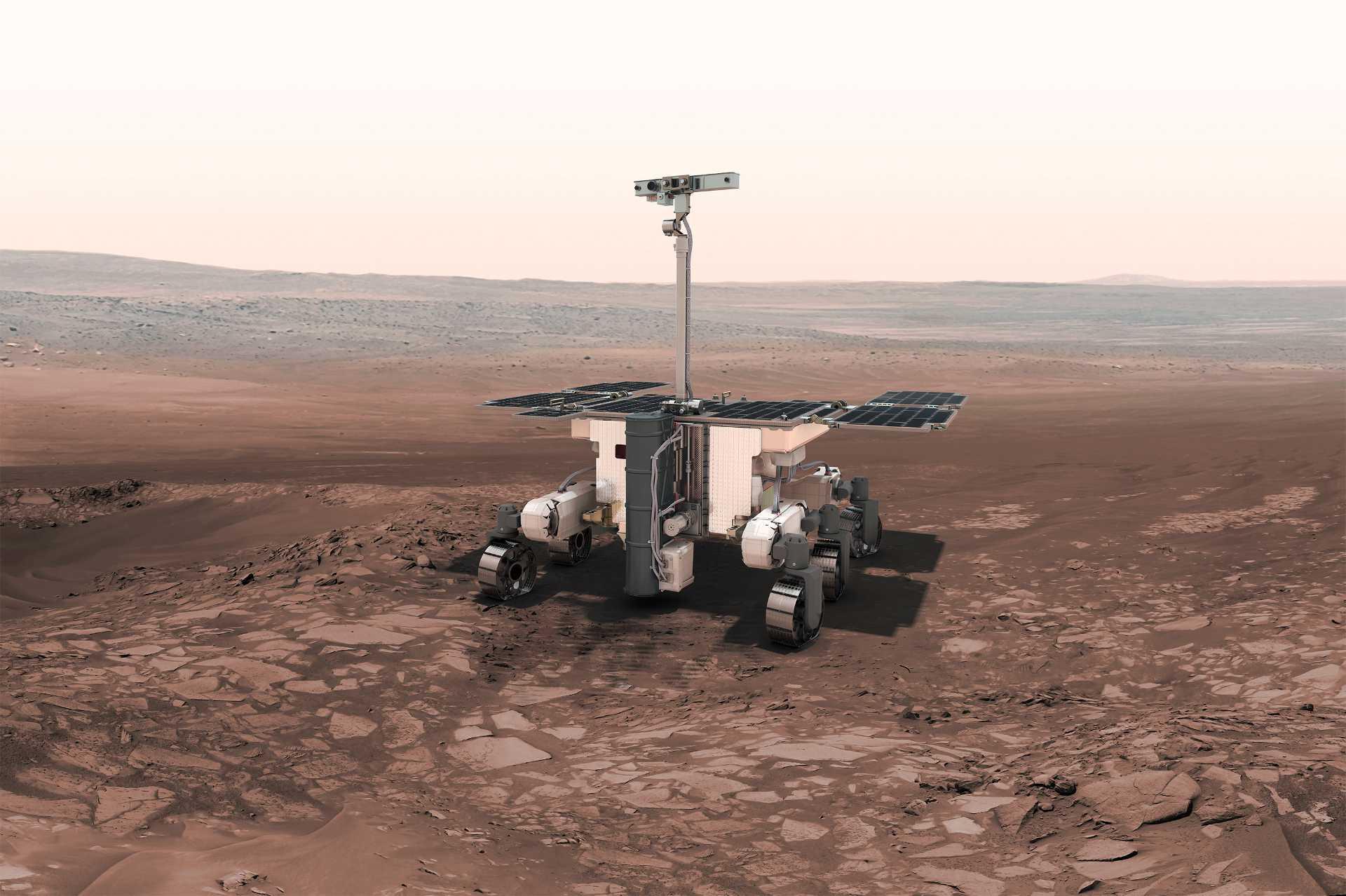 Conferencia: Misiones de Exploración del Sistema Solar de la Agencia Espacial Europea - ExoMars